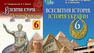 6 клас. Всесвітня історія. Історія України-Історія в школі