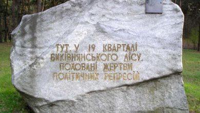 «Биківнянські могили»-Історія в школі