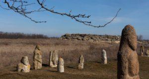 Кам'яна могила. Загальний вигляд- Історія в школі