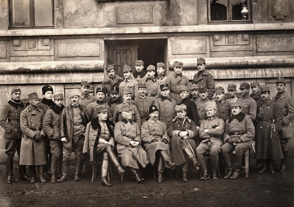 Старшини 2-го Корпусу Української галицької армії. Стрий. 1919 рік - Історія в школі