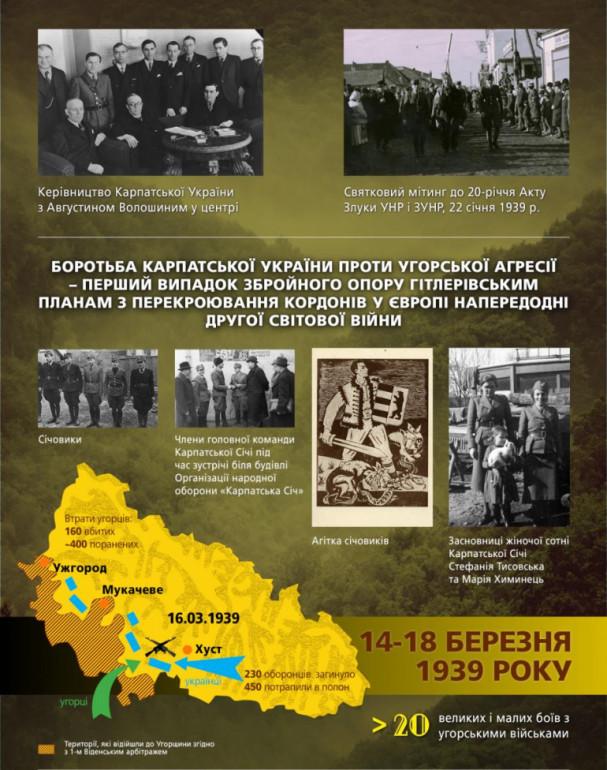 Карпатська Україна (боротьба)-Історія в школі