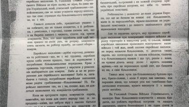 Симон Петлюра-Історія в школі