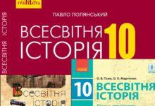 10 клас. Всесвітня історія-Історія в школі
